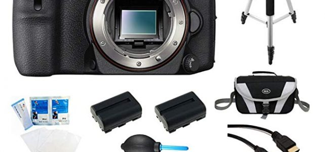 Sony A77II ILC-A77M2 A77M2 a77 II Digital SLR Camera – Body Only Bundle Includes camera, 64GB SDXC Memory Card, 2 NP-FM500 Camera Batteries, Rapid AC/DC Charger, Compact Bag, 57-in-1 Memory Card Reader, Photography DVD, micro-HDMI Cable, and More Review