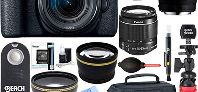 Canon EOS Rebel T7i DSLR Camera with EF-S 18-55mm IS STM & 70-300mm Lens + 64GB Class 10 UHS-1 SDXC Memory Card + Accessory Bundle Review