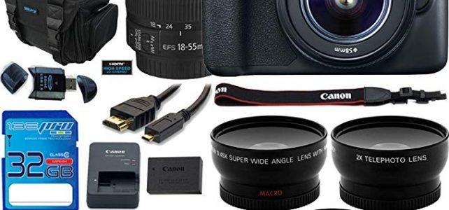 Canon EOS Rebel T6 DSLR Camera w/EF-S 18-55mm f/3.5-5.6 IS II Lens – Deal-Expo Advanced Accessories Bundle Review