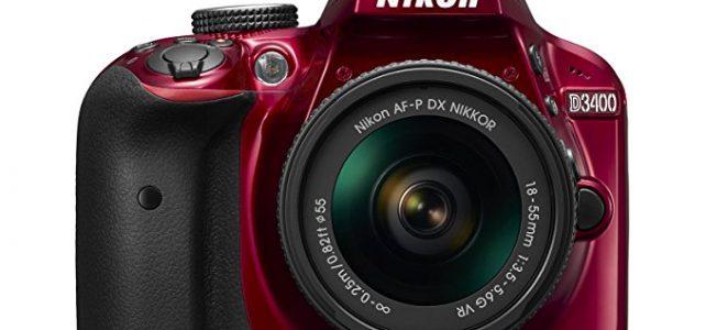 Nikon D3400 w/ AF-P DX NIKKOR 18-55mm f/3.5-5.6G VR (Red) Review