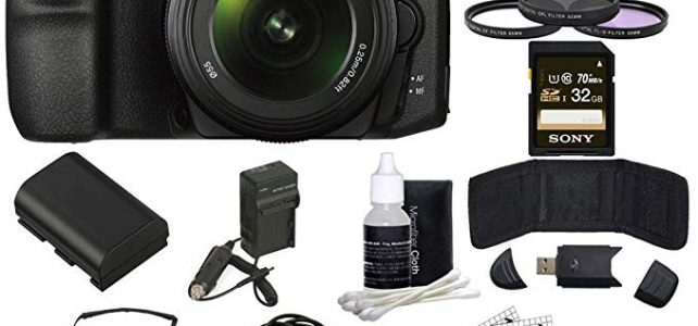 Sony ILCA68K/B a68 A-Mount Digital Camera 18-55mm + 55-200mm Lens Bundle includes ILCA68/B Camera, 18-55mm + 55-200mm Zoom Lenses, 55mm Filter Kit, 32GB SDHC Memory Card, Beach Camera Cloth and More! Review