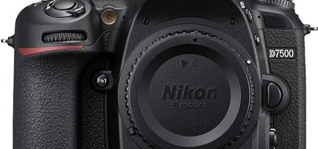 Nikon D7500 DX-Format Digital SLR Body Review