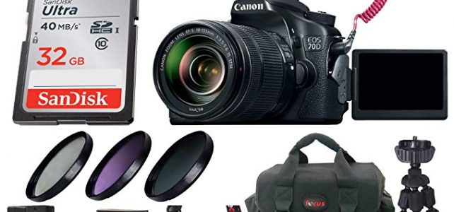 Canon EOS 70D DSLR Camera with 18-135mm Lens Video Creator Kit & Deluxe Accessory Bundle Review