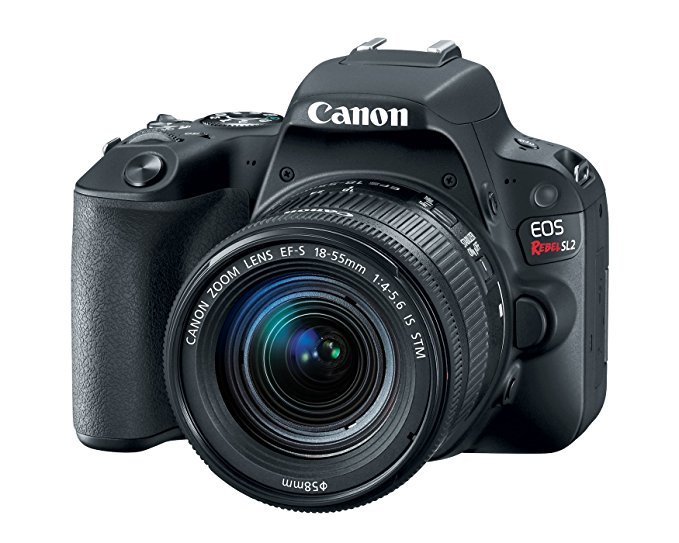 Canon EOS Rebel SL2 DSLR Camera EF-S 18-55mm STM Lens - WiFi Enabled